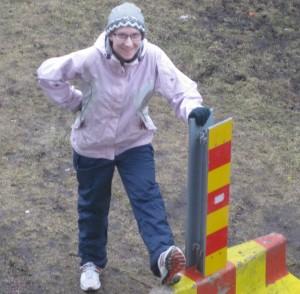 Kom ihåg att stretcha efter löpningen för att undvika skador!