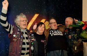 Vinnarna i finska Melodifestivalen. Fotograf: Tiia Santavirta. YLE